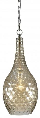 Avigail Champagne Glass Pendant Light