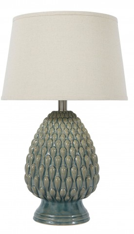 Ceramic Brown Table Lamp