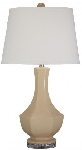 Suellen Beige Ceramic Table Lamp