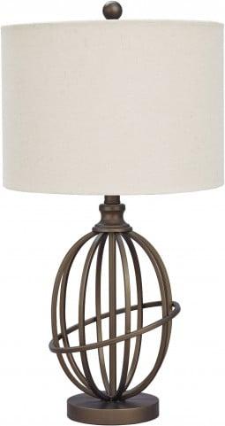 Manasa Bronze Metal Table Lamp