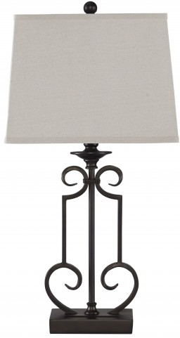 Ainslie Bronze Metal Table Lamp