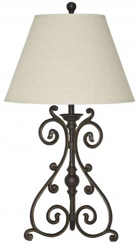 Akello Bronze Metal Table Lamp