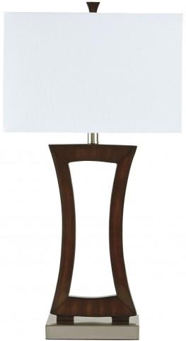 Danon Brown Poly Table Lamp