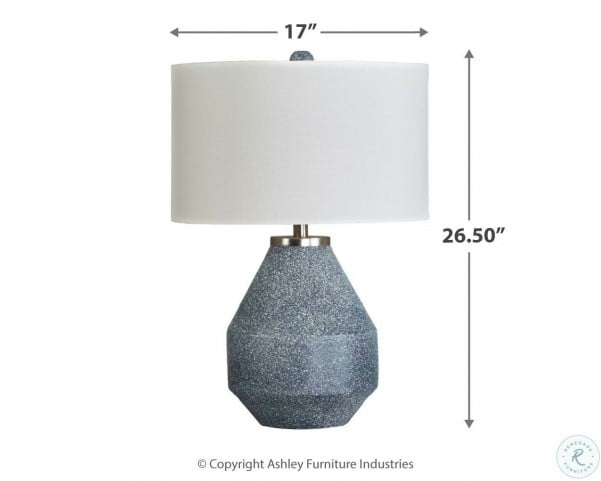 Kristeva Blue Table Lamp