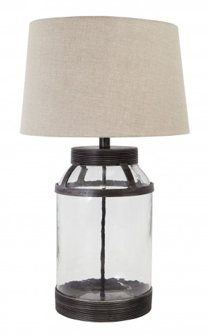 L430034 Glass Table Lamp
