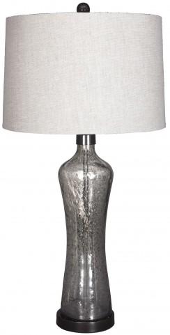Sharrona Gray Glass Table Lamp