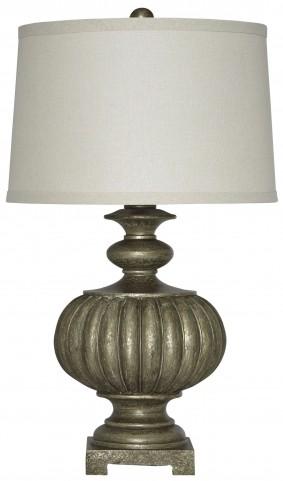 Araminta Antique Gray Poly Table Lamp