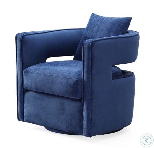 Kennedy Navy Swivel Chair