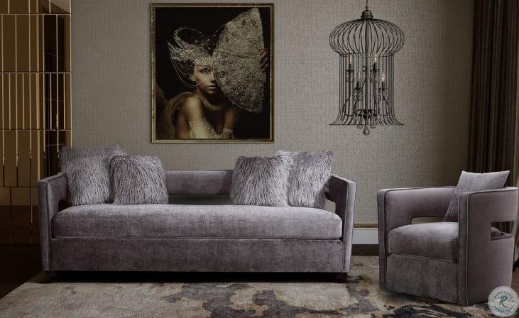 Kennedy Grey Swivel Chair