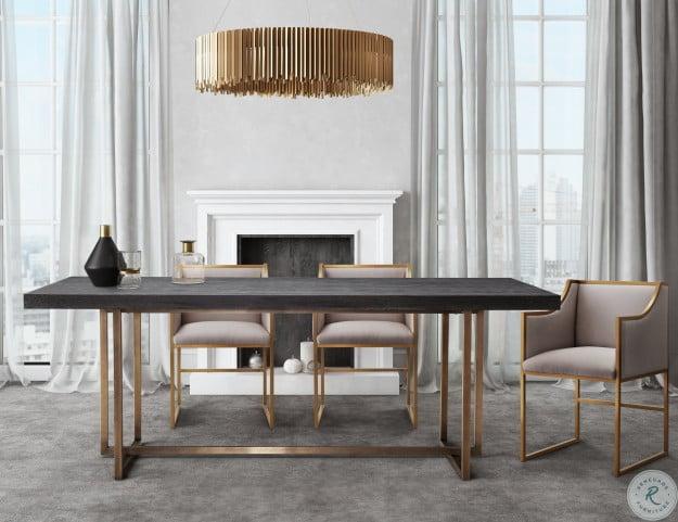 Mason Black Rectangular Dining Room Set From Tov Furniture Coleman Furniture