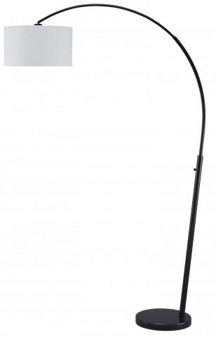 Shawny Black Metal Arc Lamp
