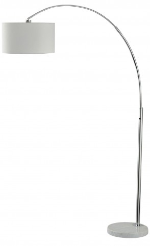 Areclia Chrome Metal Arc Lamp
