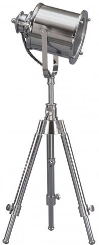 Krish Chrome Metal Floor Lamp