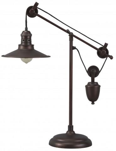 Kylen Bronze Metal Desk Lamp