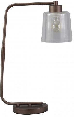 Kyron Bronze Metal Desk Lamp