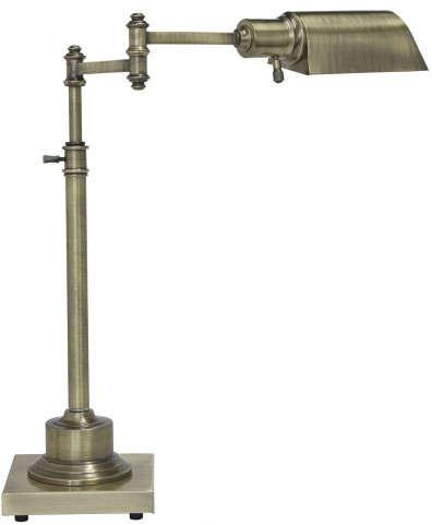 Arawn Antique Brass Metal Desk Lamp