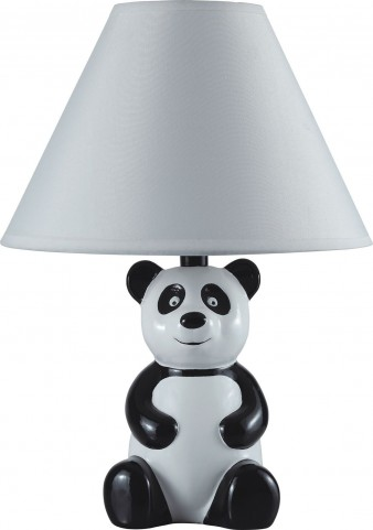Pando White Panda Table Lamp
