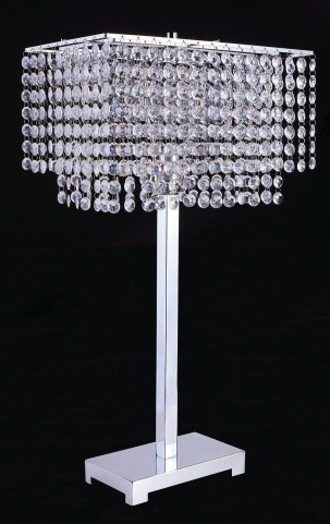 Rena Chrome Table Lamp