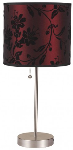 Mei Table Black and White Lamp Set of 2