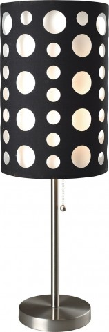 Hoolie Black And White Table Lamp