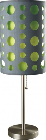Hoolie Gray And Green Table Lamp