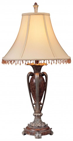 Sheryl Antique Copper Table Lamp Set of 2