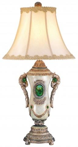Gabriela Emerald Stone Table Lamp