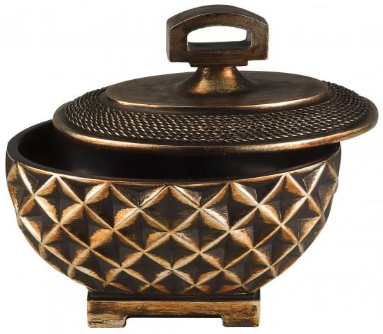 Mabel Copper Bronze Decorative Box Set of 4