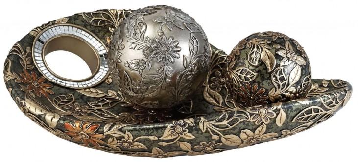 Farrah Decorative Bowl With Spheres Set of 2