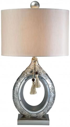 Farrah Mirror Strips Table Lamp