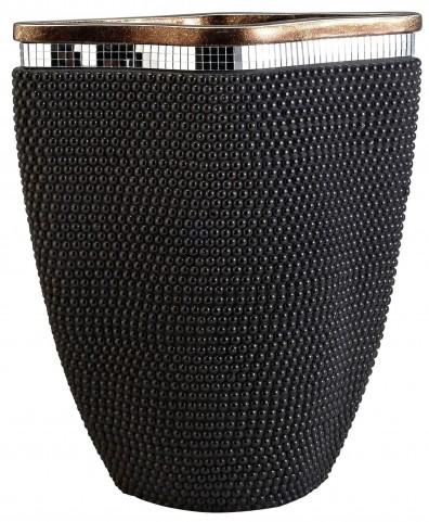Sylvia Pearl Stone Decorative Vase Set of 2