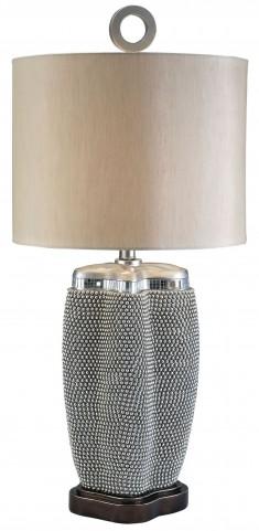 Sylvia Pearl Stone Table Lamp
