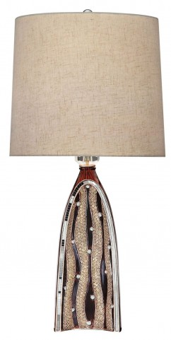 Velam Wooden Table Lamp
