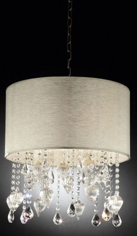 Calypso Hanging Crystal/Glass Ornament Ceiling Lamp