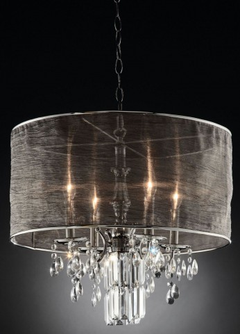 Gina Shear Hanging Crystal Ceiling Lamp