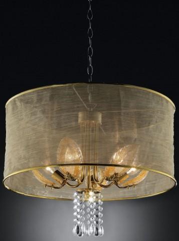 Gladys Shear Hanging Crystal Ceiling Lamp