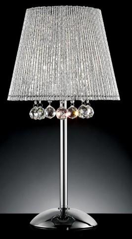Nora Chrome Table Lamp