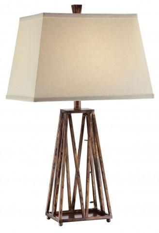 Stella Antique Copper Table Lamp Set of 2