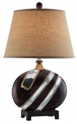 Lou Wood Table Lamp Set of 2