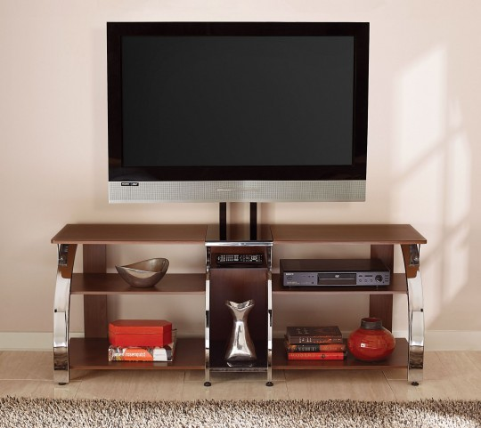 Layla Cherry TV Console with Mounting Bracket