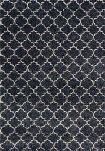 Lane Blue Warm Scroll Medium Rug