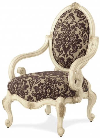 Lavelle Blanc Oval Back Wood Chair