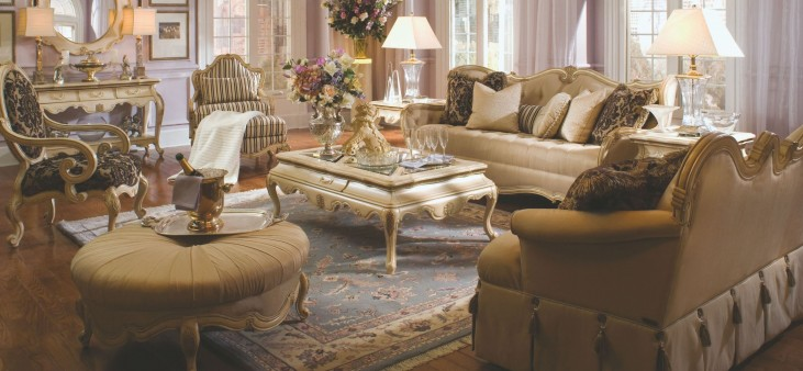 Lavelle Blanc Living Room Set