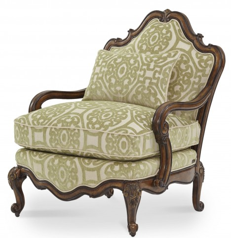 Lavelle Melange Bergere Wood Chair