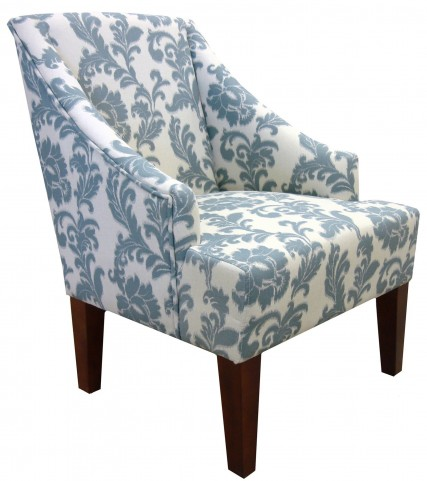 Mbs-450 Ikat Fabric Accent Chair