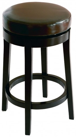 """Mbs-450 26"""" Brown Bonded Leather Backless Swivel Barstool"""
