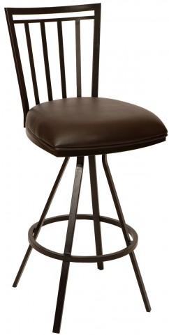 "Aidan 30"" Coffee Barstool"
