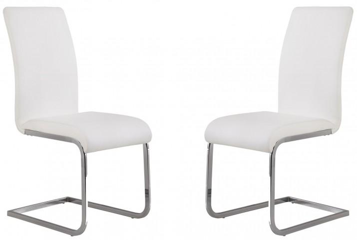 Amanda White Side Chair Set of 2