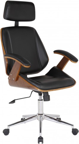 Century Black Office Chair