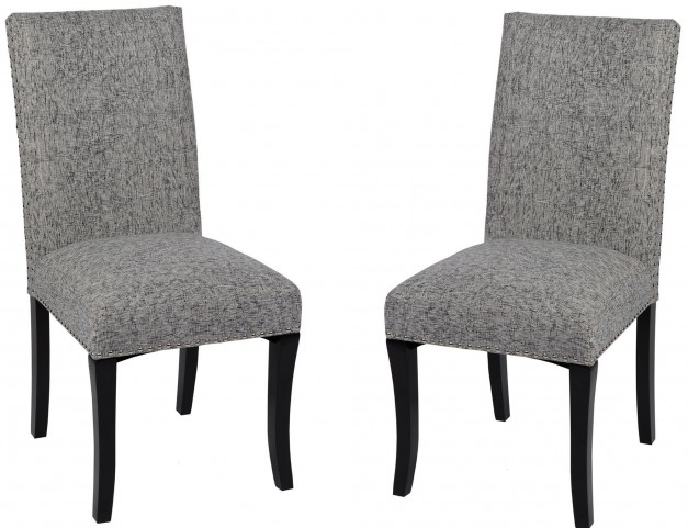 Deborah Ash Accent Nail Side Chair Set of 2